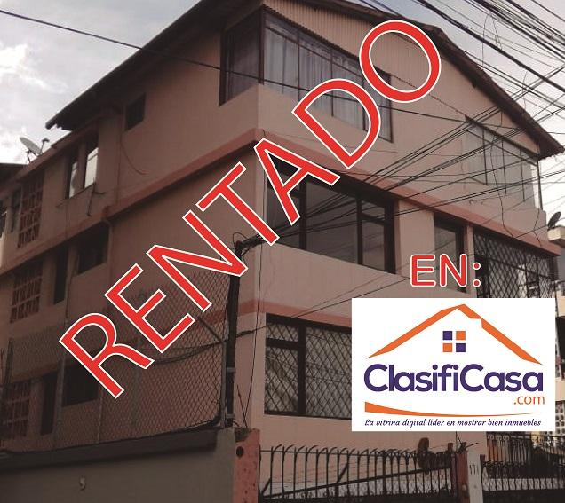 CERCA AL QUICENTRO SHOPPING NORTE DE QUITO RENTO AMPLIO DEPARTAMENTO
