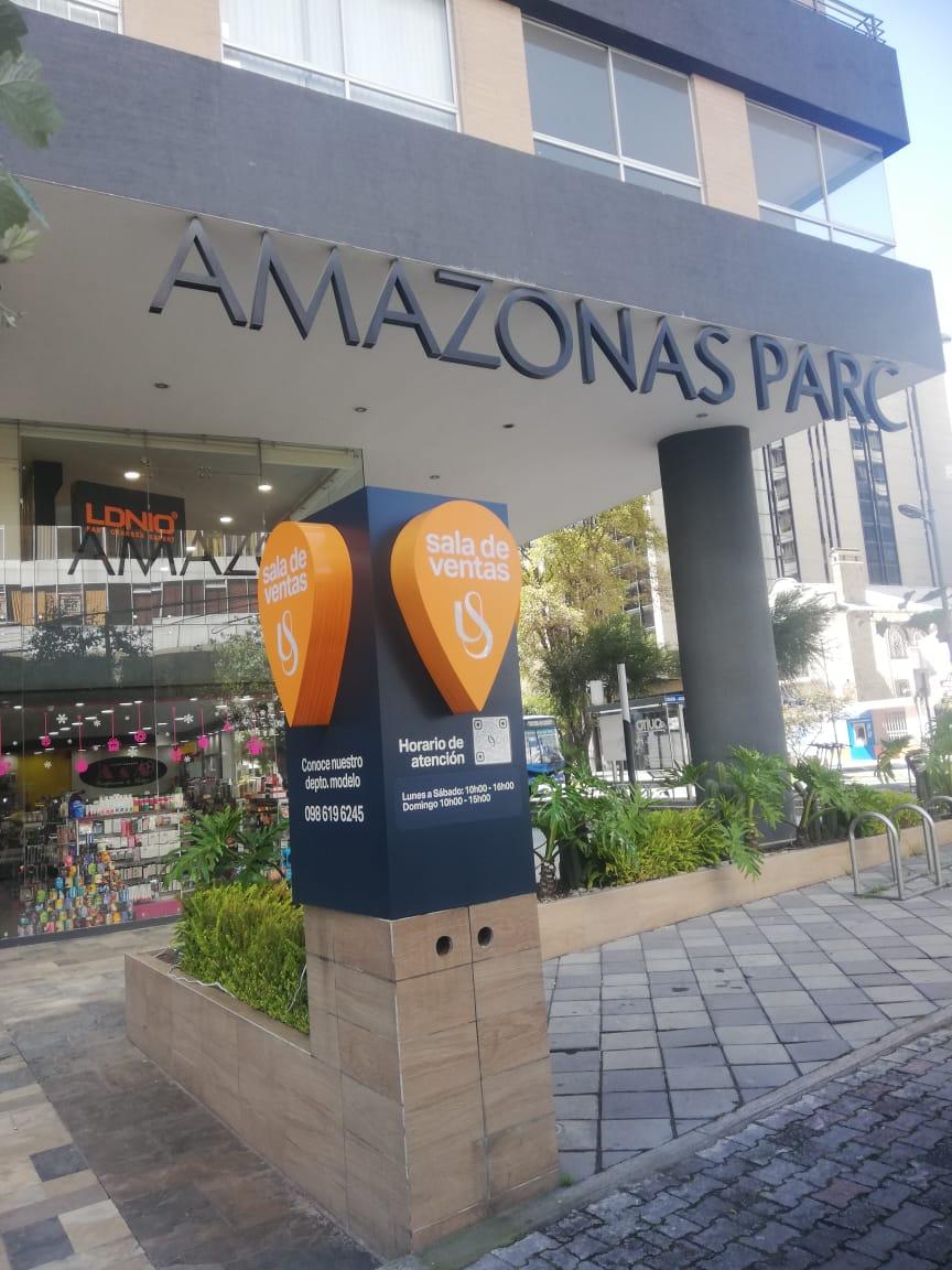 EN EL EDIFICIO AMAZONAS PARK VENDO LINDA SUITE