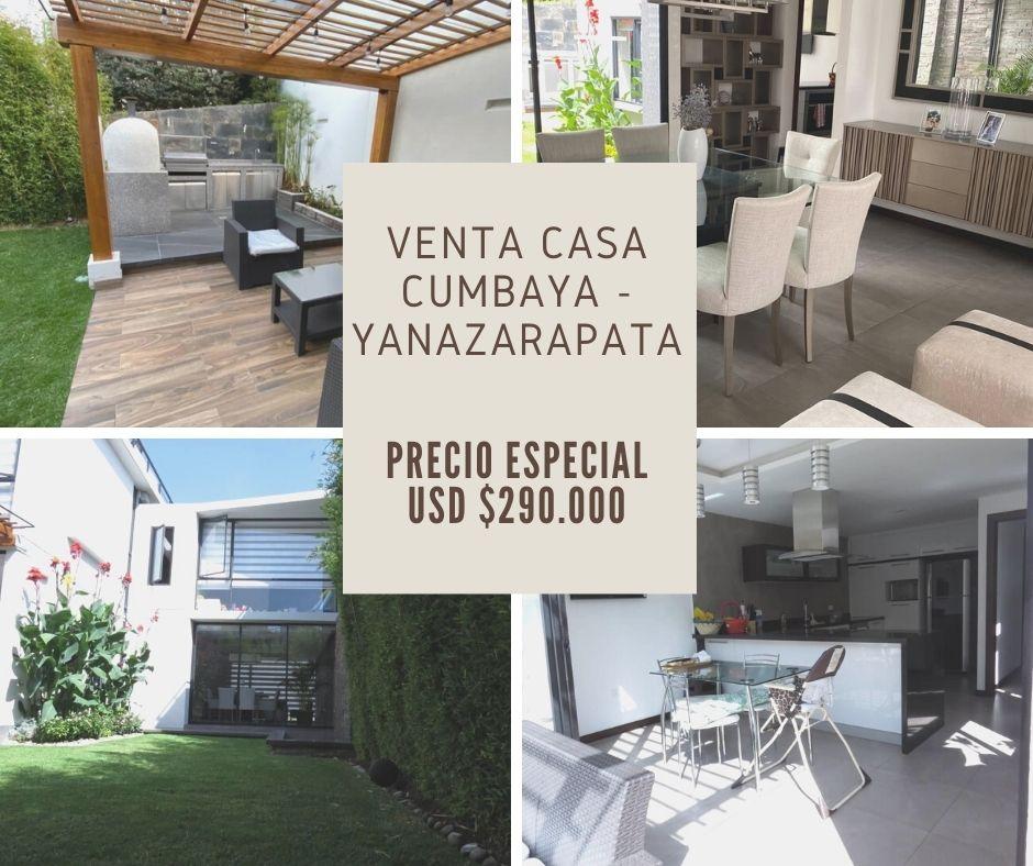 VENDO CASA CUMBAYA DE OPORTUNIDAD